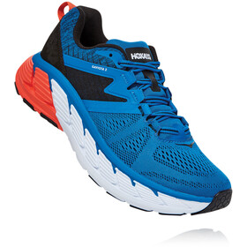 Hoka One One Gaviota 2 Schoenen Heren, imperial blue/anthracite